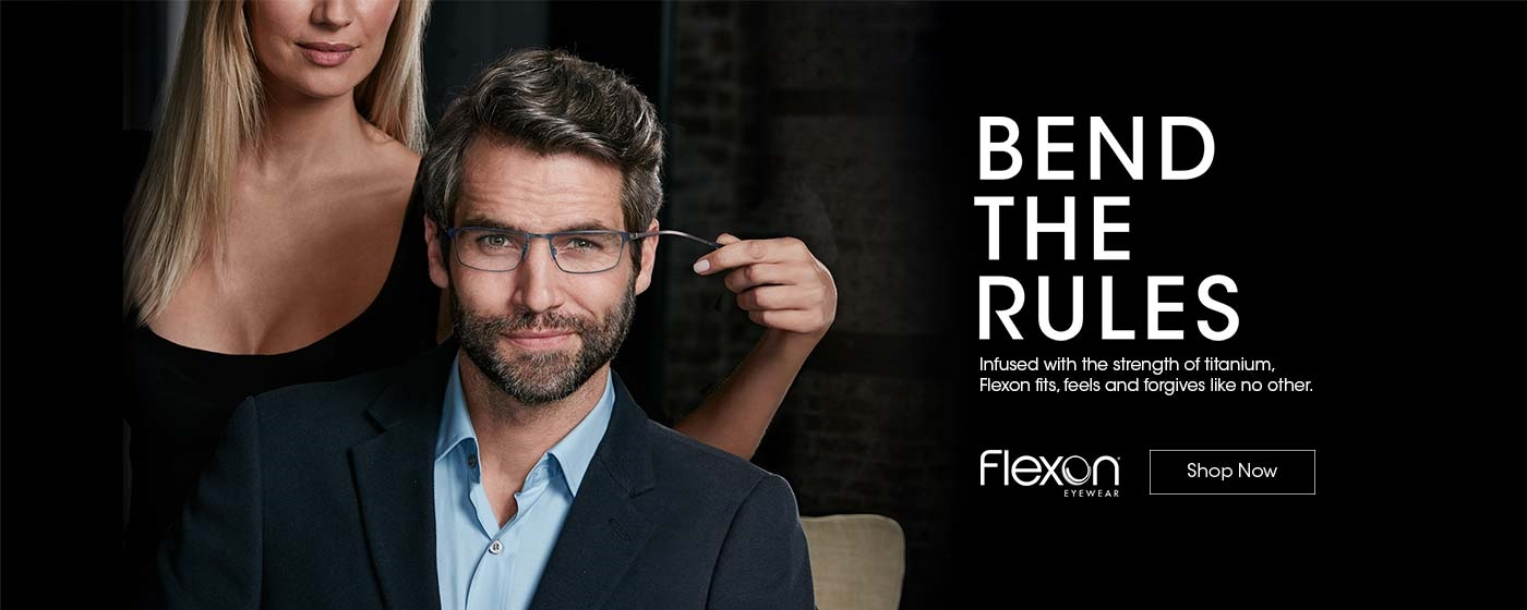 Flexon eyewear - Bend the Rules